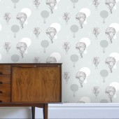 Vintage balloons Wallpaper