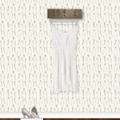 """Vintage Dresses"" Wallpaper (neutral)"