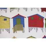 Muizenburg Huts Scatter Cover - close up